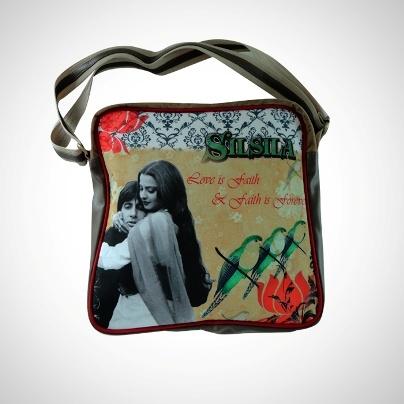 'Bags Of Bollywood' - Sling Bag 'Silsila' Imprint  Now At Rs. 1,295.00