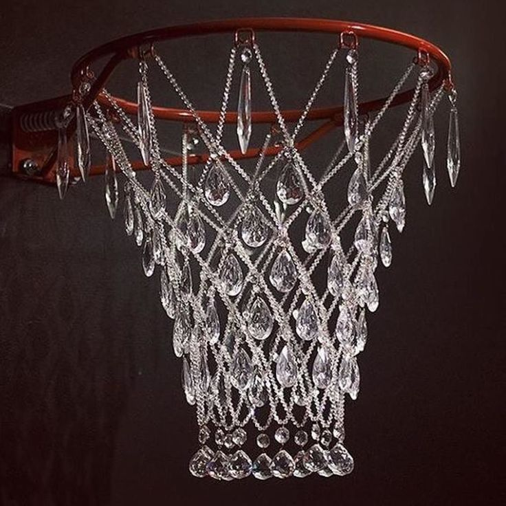 "Basketball rim hardware crystal glass brass & nylon line. First shown at Expo SOIL Gallery May 2009. Edition of 3 (sold) 21"" x 19"" x 22"" ---------------------------------------------------------- Artist #JanaBrevick ----------------------------------------------------------Shared by  @yesladypheOnix ----------------------------------------------------------Want a feature to our millions of followers across our blog and social media accounts? Here's how to do it:  1. List 3 or 4 works of…"