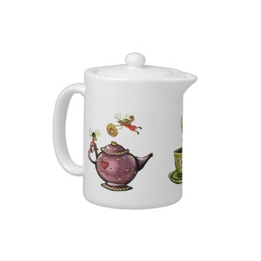 Tea-Time Fairies Teapot for $23.95 #teapot #fairy