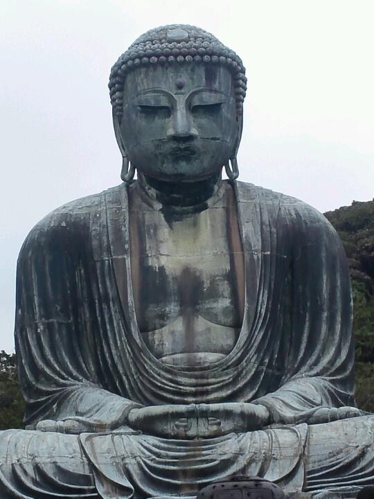 Buddha daibutsu Kamakura Japan 大仏 鎌倉 横浜 日本