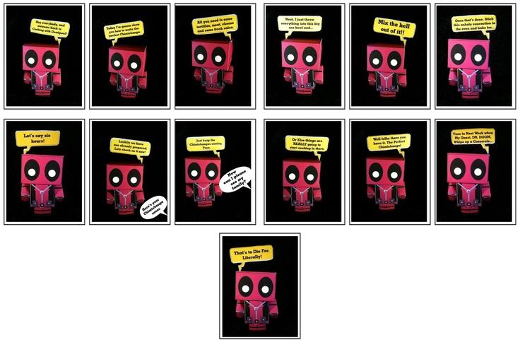 Cubeecraft Comic - Cooking with Deadpool Quotes | cubeecraft comics ...