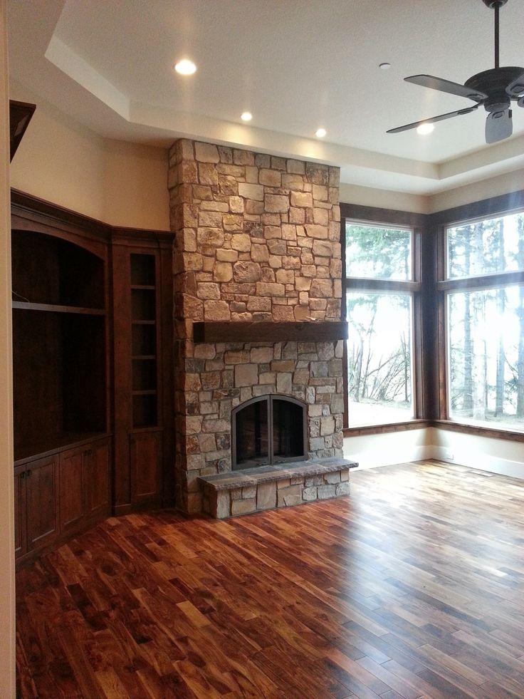 25 best brick homes images on Pinterest | Fireplace ideas, Brick ...