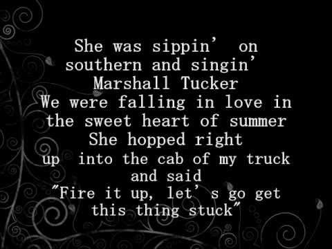 """Cruise"" by Florida Georgia Line with lyrics -- The best song to listen to while ""cruisin'"" down a country road <3"