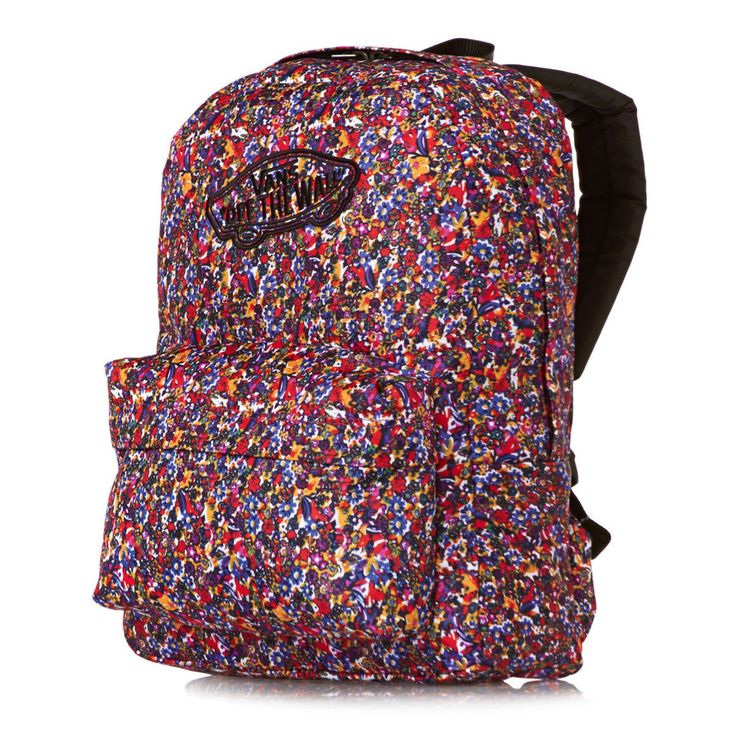 Vans Womens Realm Ditsy Floral/persian Jewel Backpack