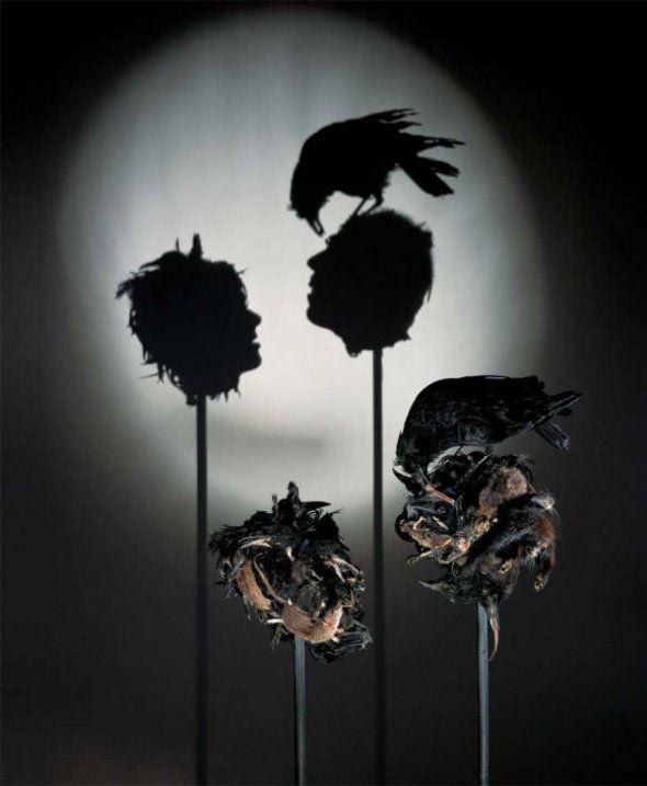 Rubbish: Shadow art