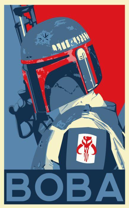 Boba Fett Poster // by Matthew Rabalais
