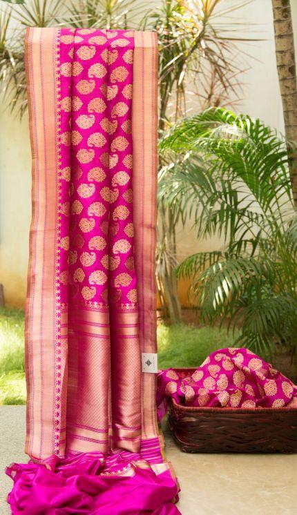 Benares Silk L03132 | Lakshmi #indian #wedding #fashion #style #women #sari #saree #blouse #design #dress