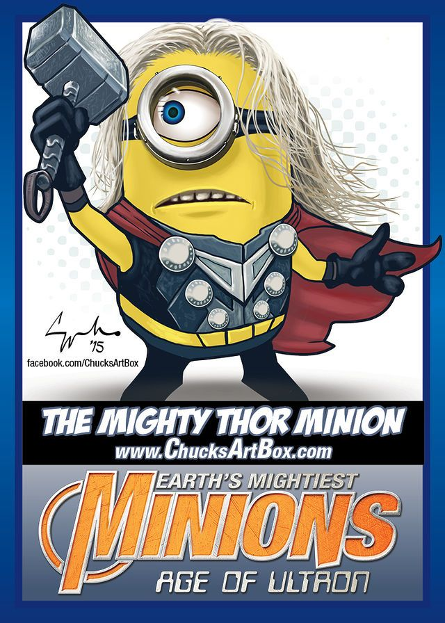 Behold: Mighty Minion Avengers Fan Art! | moviepilot.com