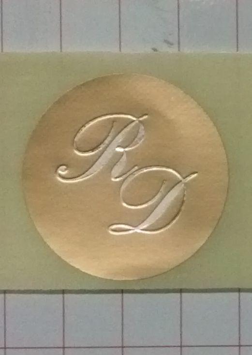 Monogrammi e sigilli adesivi per matrimonio. Visitate il negozio http://stores.shop.ebay.it/ARES-di-Fortunato-Giuseppe