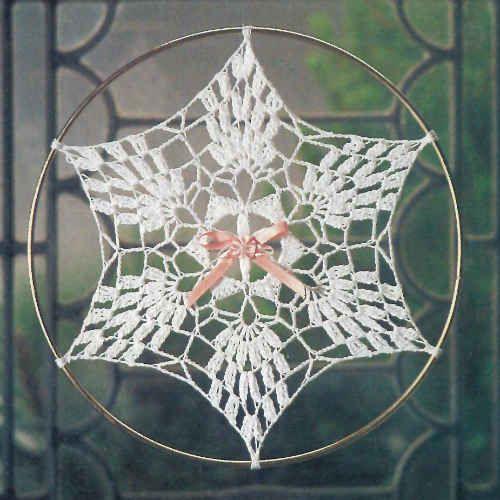 http://www.bestfreecrochet.com/2011/09/28/fp319-pineapple-sunflake-suncatcher-crochet-pattern/