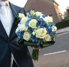 blauw bruidsboeket - Google zoeken