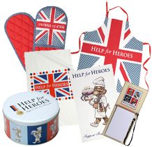 Help for Heroes Charity Kitchen Items | #H4H #colossalcakesale