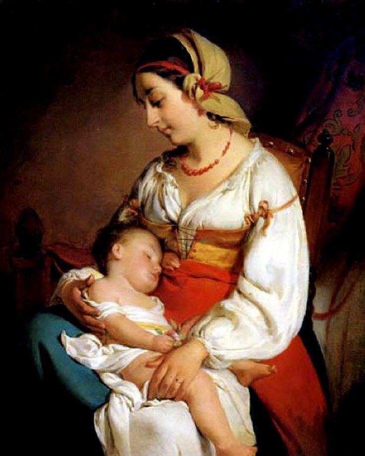 The Athenaeum - Mother Love (Friedrich von Amerling - )