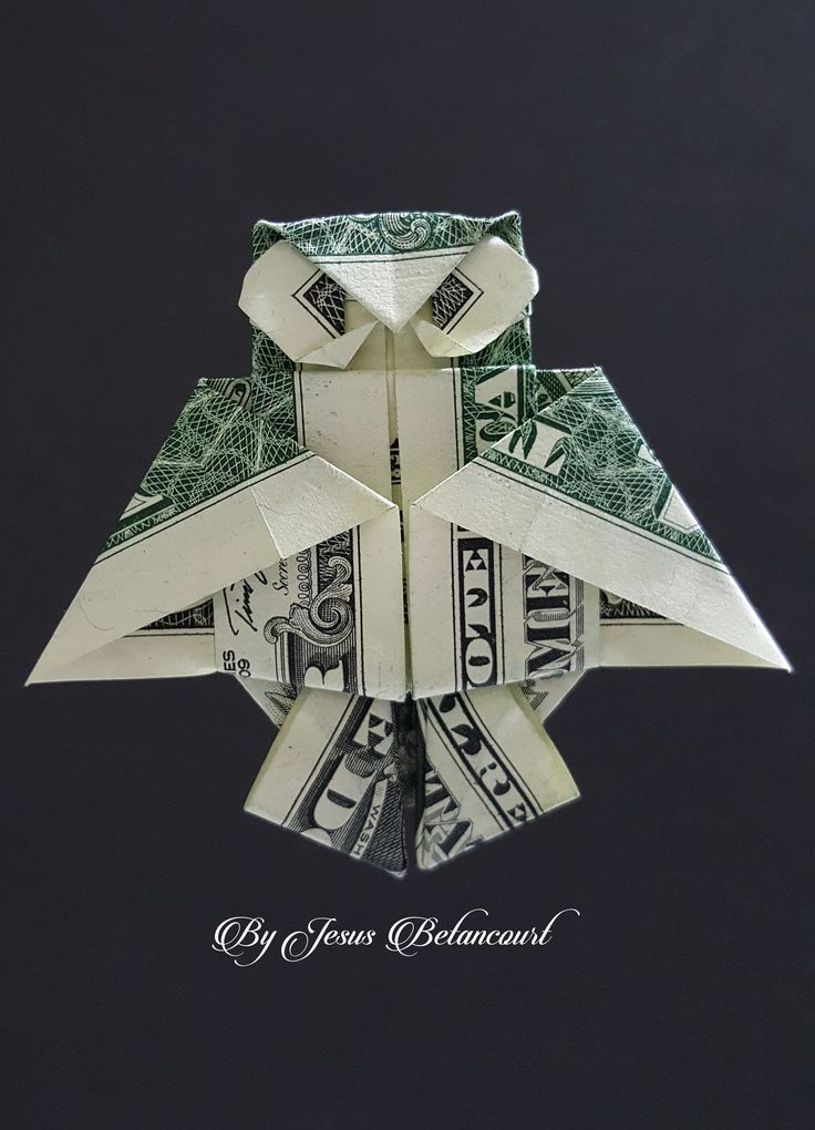 25 best ideas about dollar origami on pinterest money