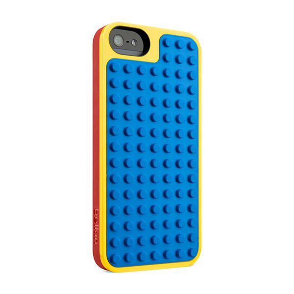 Verras je vader met een Belkin LEGO Case (€ 29.95) voor iPhone 5/5s en maak samen een leuke LEGO-constructie! Deze case bestaat ook in andere kleuren.