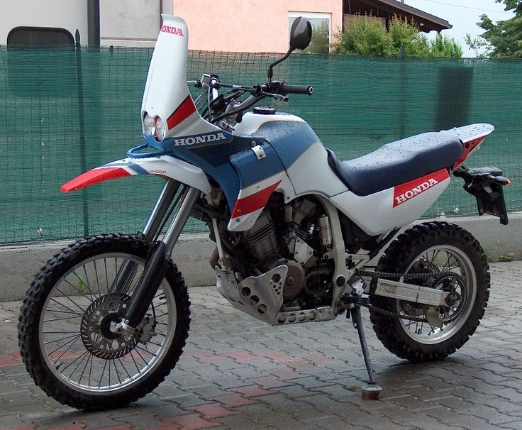 Trimmed down Africa Twin