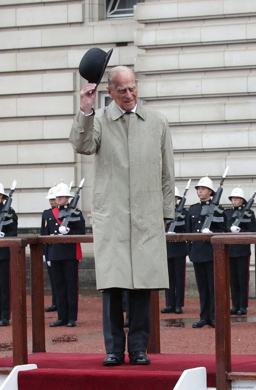 Prince Philip - His last public appearance. August 2 2017