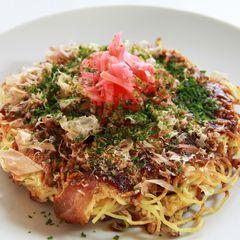 Hiroshima Okonomiyaki (Japan Savoury Stuffed Pancake)