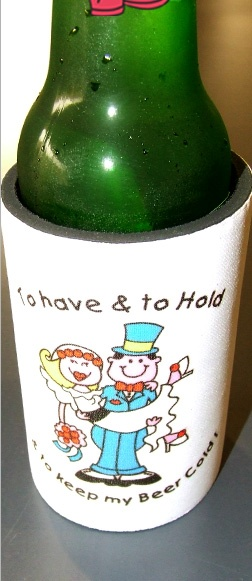 Wedding and Marriage Stubby Holders