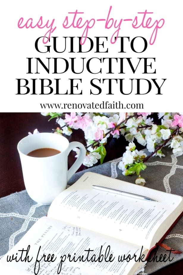 How to Study the Bible For Beginners (Free Inductive Bible