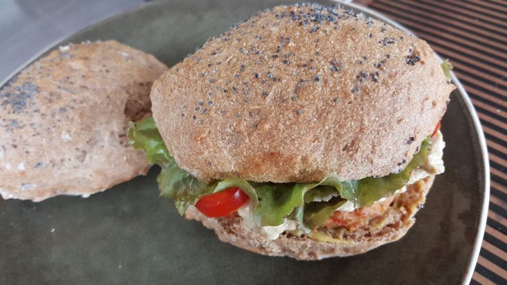 Incroyables buns Burger ig bas