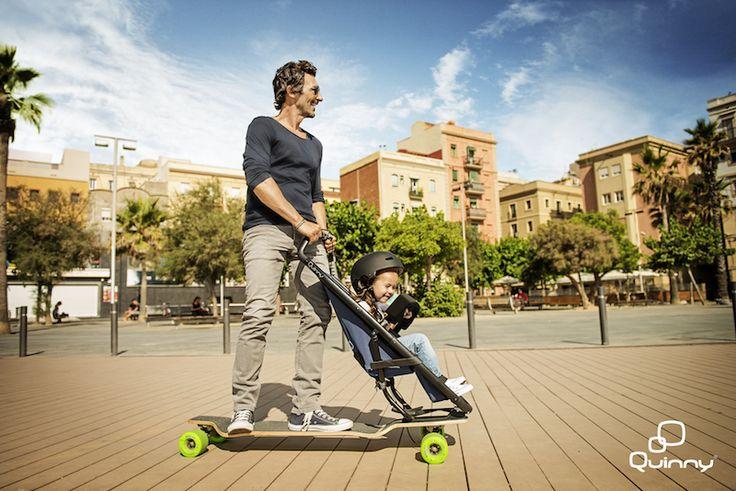 Abgefahrene Karren für den Urlaub mit Kind: Eure Kids machen beim Städtebummel schlapp? Mit diesen drei Erfindungen werden alle wieder mobil und haben auch noch Spaß beim Sightseeing. Und der Clou: Man wird damit selbst zur Attraktion! Wollt ihr mehr über Buggy-Bike, Longboard-Stroller und Kick-Board-Kiwa wissen?