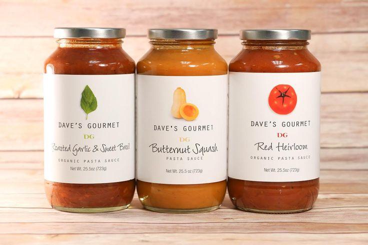 Dave's Gourmet Pasta Sauce Giveaway