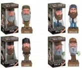 Duck Dynasty Complete Set (4) Funko Wacky Wobbler Talking Bobbleheads
