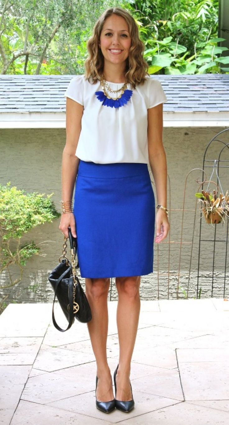 25 best ideas about blue skirt on