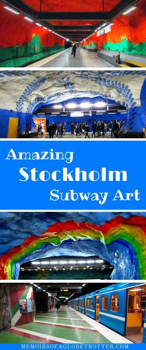 Known as the world's longest art gallery, the Stockholm metro features the work of more than 150 talented artists! You can easily spend hours exploring these stations and admiring the art! This is a must-see attraction in Sweden.