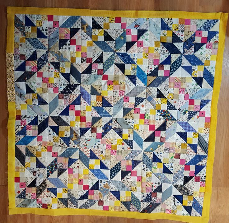 Midnight Flight, Quiltville Patern, Needs one more border and quilting