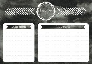 Recipe Card #health #wellness #healthyliving #healthtips #healthyfood #healthyeating
