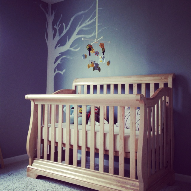 Nursery's almost done!