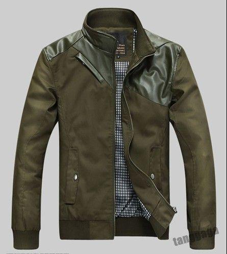 Hot New Fashion Korean Mens Slim Fit Casual Male Jacket Coat Spring 2 | eBay