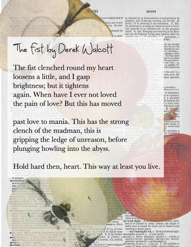 Derek Walcott #poetry #nationalpoetrymonth