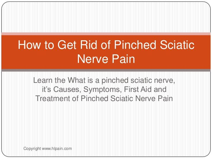 how-to-get-rid-of-pinched-sciatic-nerve-pain by Owich Ben via Slideshare