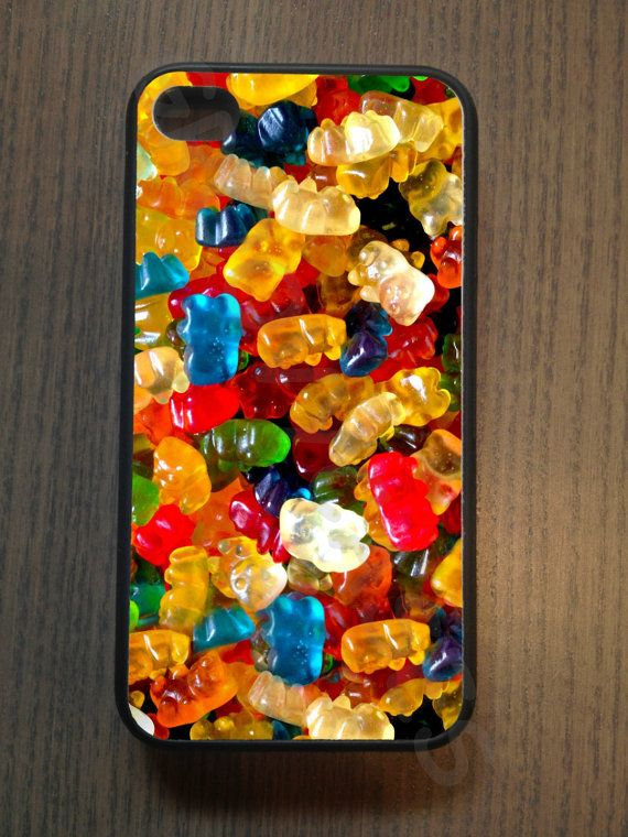 Even your phone can get in the sweet spirit with this fun gummy bear photo phone case.  Read More On VintageAndKind.com