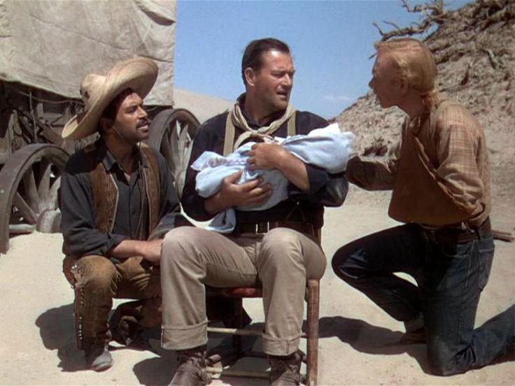 3 Godfathers, 1948. By John Ford with John Wayne, Harry Carey Jr., Pedro Armendáriz and Mildred Natwick.