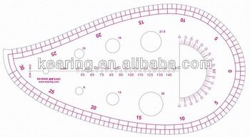 Kearing#6460,Plastic Templates Ruler,Drawing Stencil,draw french curve patternmaster