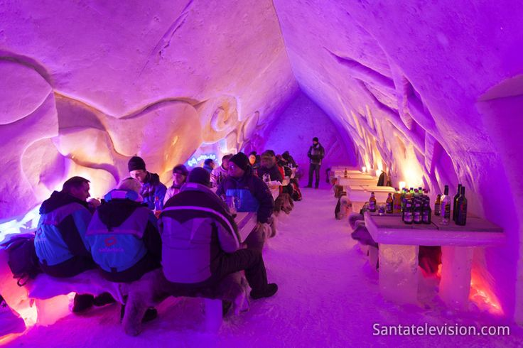 Arctic Snow Hotel, Rovaniemi, Lapland