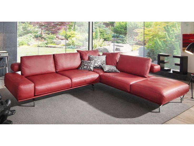die besten 25 leder anbausofa ideen auf pinterest leder anbausofa leder couchgarnitur und. Black Bedroom Furniture Sets. Home Design Ideas