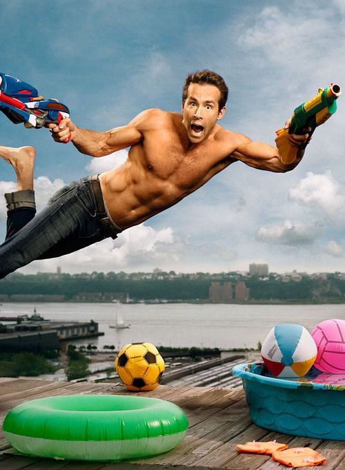 Ryan Reynolds by Martin Schoeller