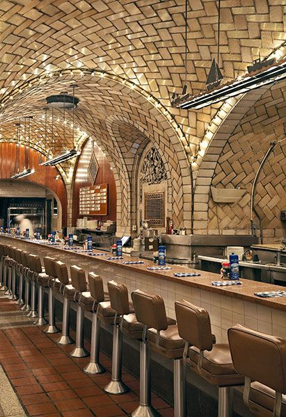 Oyster Bar. Grand Central Terminal, NYC
