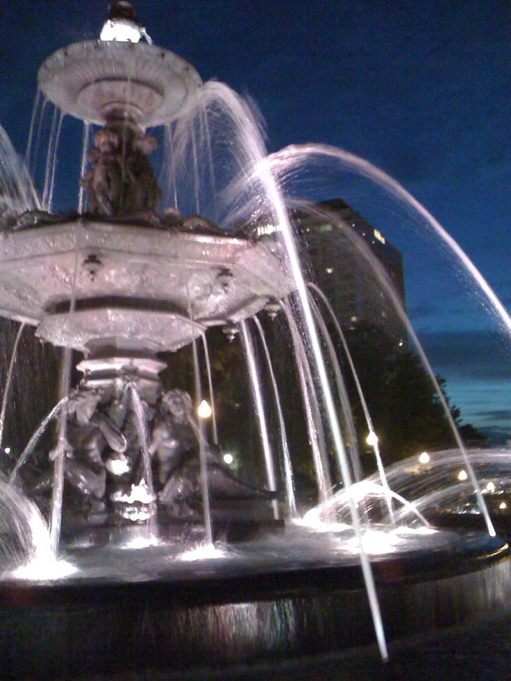 Fontaine de Tourny, Ville de Québec