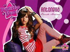 Antonella es un personaje malo en la serie Patito Feo