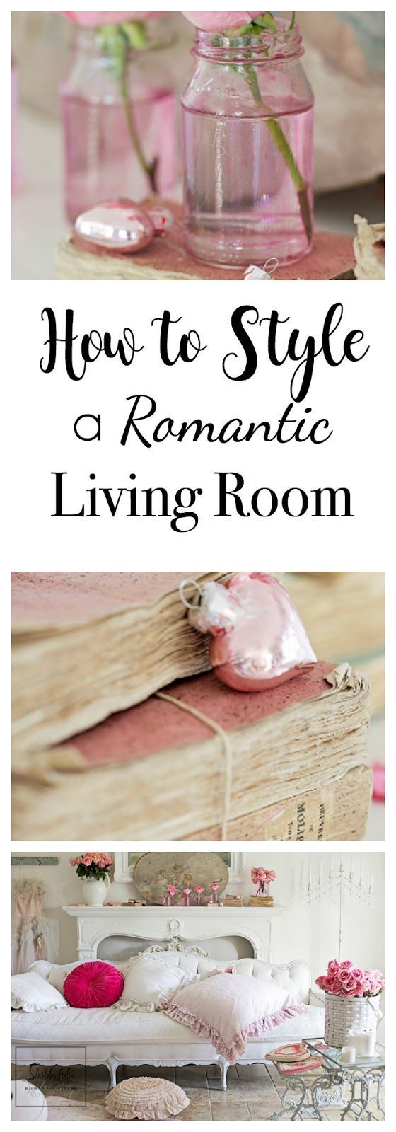 How to style the most romantic home ever for Valentine's Day with lots of pink! #valentinesday #decor #homedecorhabbyfufu