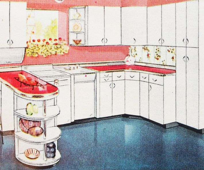 Best Vintage Kitchens Images On Pinterest Vintage Kitchen - Kitchen ad