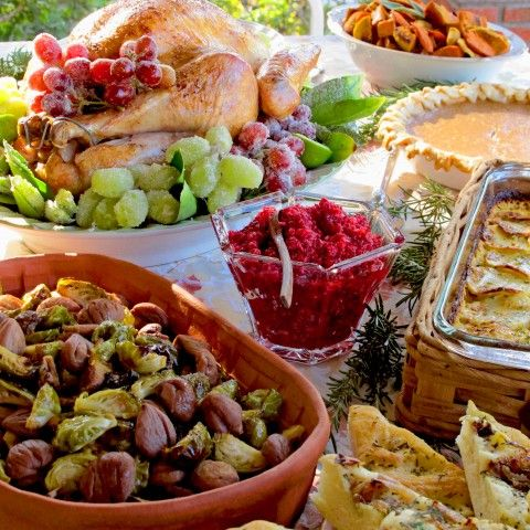 What to Serve for Thanksgiving 2013. My favorite side dishes (best part of the feast!), on the blog Shockingly Delicious.  #Thanksgiving #sidedishes
