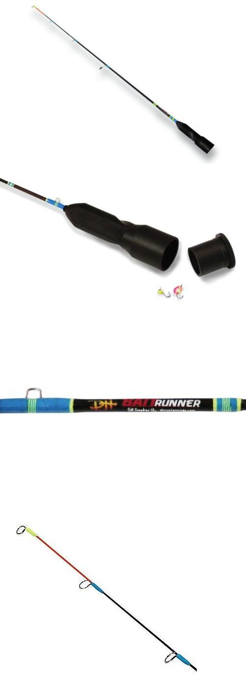 Ice Fishing Rods 179947: Baitrunner Ice Fishing Rod 26 Inch Ultra Light Ul Solid Carbon With Bait... -> BUY IT NOW ONLY: $67 on eBay!