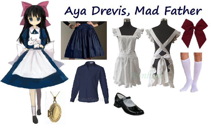 casual cosplay aya drevis mad father | Casual Cosplay outfits ...